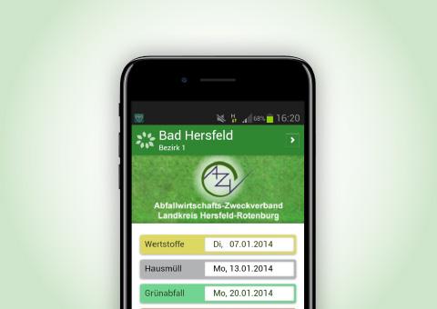 Müllkalender-App